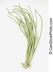 String Beans - String beans on white background