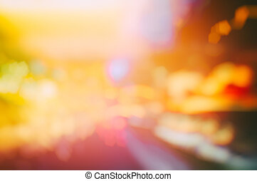 Multicolor abstract background - Multicolor defocused...