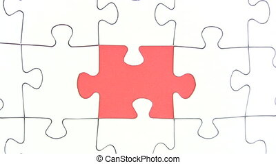 Missing Jigsaw Piece - Canon HV30. HD 16:9 1920 x 1080 @...