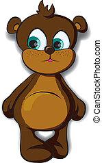 cutie bear vector