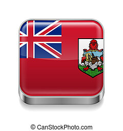 Metal  icon of Bermuda
