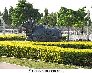 Nandi(Bull) - This is Nandi of god shankar ji.
