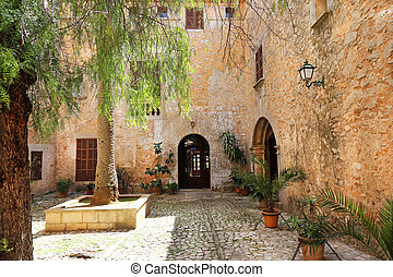Old Palace Mallorca Spain - an old palace, seen from the...
