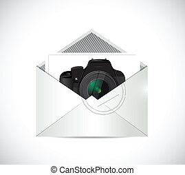 camera inside an envelope