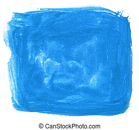 ink abstract stroke watercolor blue brush water color splash...