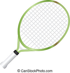 Junior Tennis Racquet - Junior racquet with a short handle....