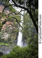 waterfall near the south african place Sabie