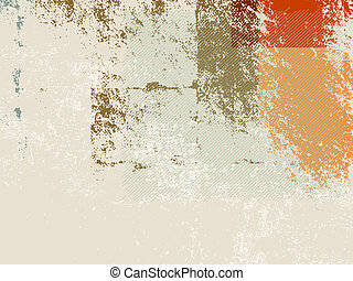 Retro background 70s - Abstract grunge wallpaper background...