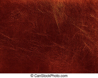 leather - photo of the golden leather background