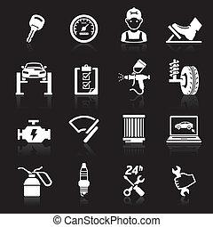 Car service icon set - Car service icon set2 Vector...