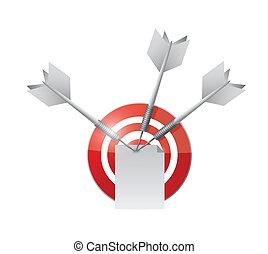 target paper illustration design
