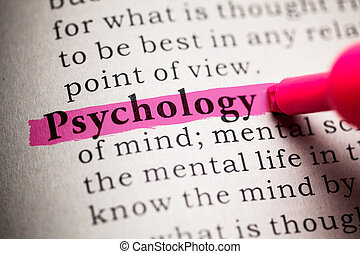 Psychology - Fake Dictionary, definition of the word...