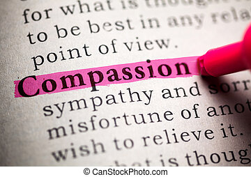 Compassion - Fake Dictionary, definition of the word...