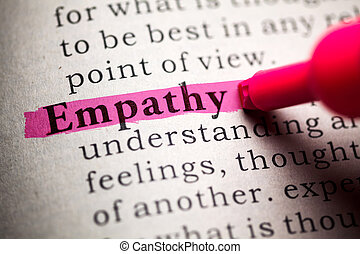 empathy - Fake Dictionary, definition of the word empathy