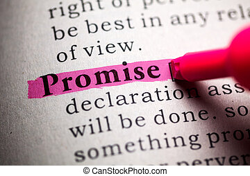 promise - Fake Dictionary, definition of the word promise