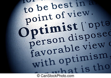 optimist - Fake Dictionary, Dictionary definition of the...