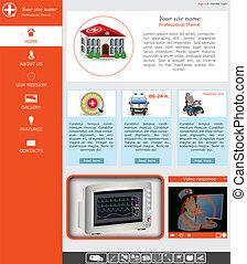 website template 21 - Website template design along with...