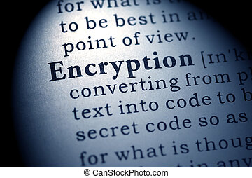 encryption - Fake Dictionary, Dictionary definition of the...