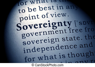 sovereignty - Fake Dictionary, Dictionary definition of the...