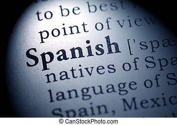 spanish - Fake Dictionary, Dictionary definition of the word...