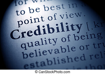 credibility - Fake Dictionary, Dictionary definition of the...