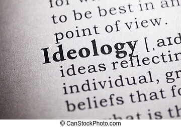 ideology - Fake Dictionary, Dictionary definition of the...