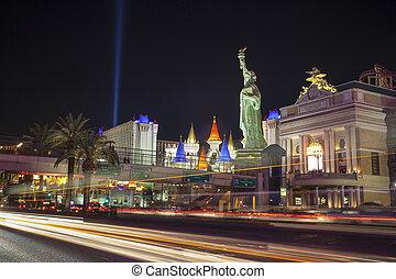 famoso, Las, Vegas, Nevada, estados unidos de américa