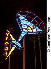Vegas Shining Sign - Welcome to Fabulous Downtown Las Vegas