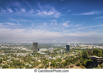Panorama of Los Angeles County - Panorama of Los Angeles...