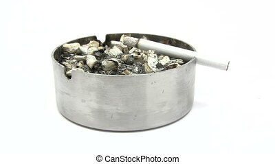 Cigarette Burning Down - Time Lapse - Canon HV30 HD 16:9...
