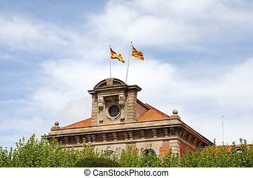 Parliament of Catalonia in Barcelona Spain