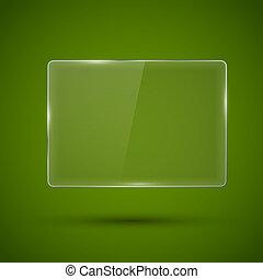 Glass framework. Vector illustration. - Glass framework...