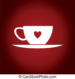 Cup heart
