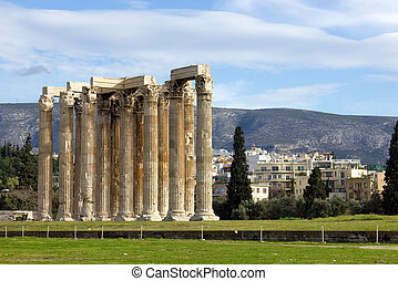 monument in Athens Greece