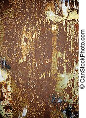 Oxide - Rusty metal surface close up at high resolution
