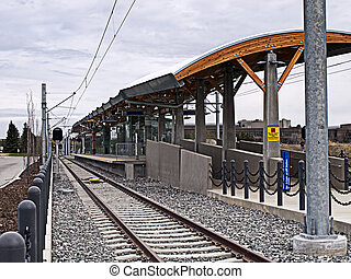 New Train Station - The recently constructed South Campus...