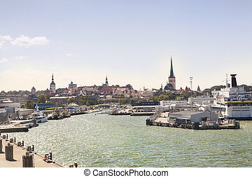 Panorama of Tallin, Estonia - Panorama of Tallin Taken from...