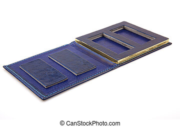 Photo Box - Navy-blue case for photos or sth else