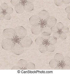 Beautiful vector floral seamless pattern.