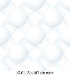 Vector seamless pattern - volume geometric texture with spheres
