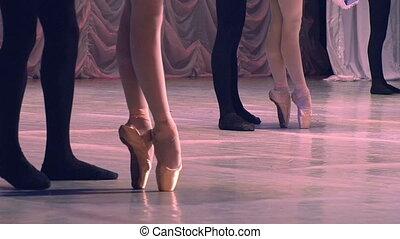 Ballet Dancing Couples