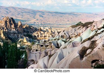 Turkish volcanic landscape