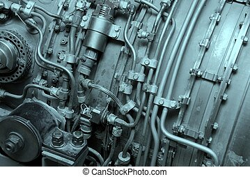 Engine - Internal of an aircraft engine