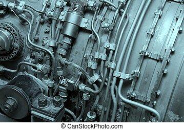 Engine - Internal of an aircraft engine
