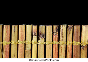 Bamboo and text space, close up image