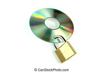 Data security ,on white background