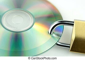 Data security ,close up image