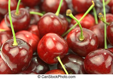 Close up Cherries