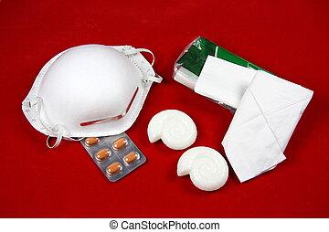 cerdos, gripe, esencial,  a(h1n1)