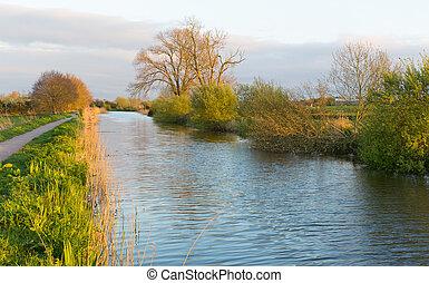 Somerset canal Bridgwater & Taunton - Bridgwater and Taunton...
